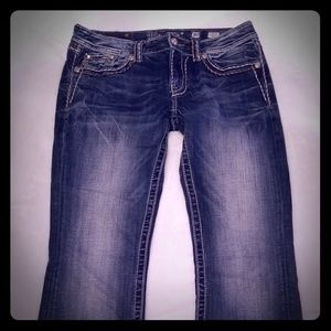 Miss Me Jean's Size 30 Buckle Signature Boot Cut